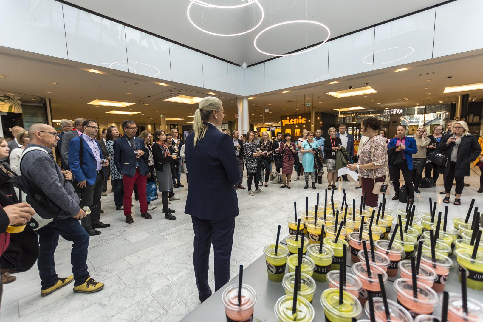 EKK:n 20-vuotisjuh-lakonferenssi jär-jestettiin Helsingissä